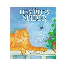 itsy bitsy spider hardcover iza trapani target