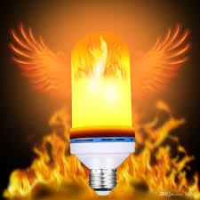 led flame effect fire light bulbs e27 e26 7w 3 modes led flame effect fire light bulbs flickering