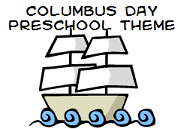 columbus day theme for preschool
