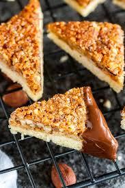 nut corners german nussecken plated cravings