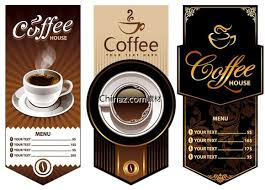 coffee shop background design cafe design vector graphics brosur pinterest cafe design