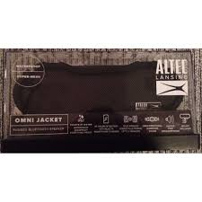 new altec lansing omni jacket waterproof rugged bluetooth