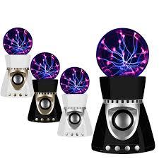 ion bluetooth speaker with lights tsleen plasma ion lightning ball lamp mini wireless bluetooth
