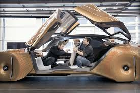bmw future car bmw s vision 100 concept will learn to drive just like you