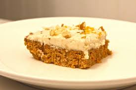 salt and love raw carrot cake bars