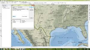 Dallas On A Map by How To Make A Simple Map In Arcmap Youtube
