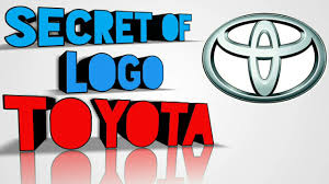 toyota logos what is the secret of toyota logo youtube