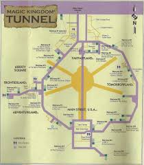 Disney World Map Magic Kingdom by 15 Things That Are Hidden Underground At Disney U0027s Magic Kingdom