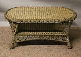 Wicker Patio Coffee Table St Outdoor Wicker Coffee Table All About Wicker