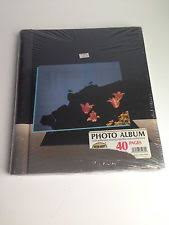 photo album with adhesive pages vintage self adhesive photo album ebay