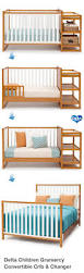 How To Convert Crib To Full Size Bed by 69 Best Cribs Images On Pinterest Convertible Crib Babies