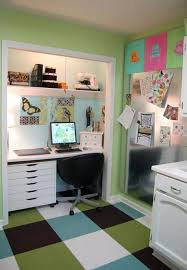 Create A Functional Home Office From A Closet Freshomecom - Closet home office design ideas