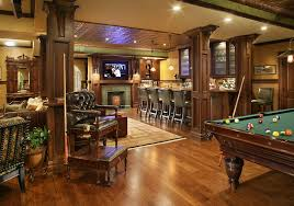 pub inspired basement bar and pool table 1594x1120 roomporn