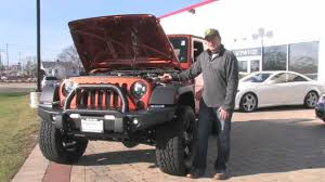 slammed willys jeep 2011 jeep wrangler rubicon 6 1 hemi chicago motor cars video