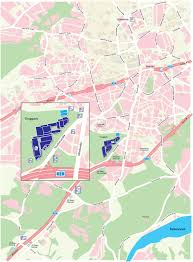 Essen Germany Map by Car Equitana 2019