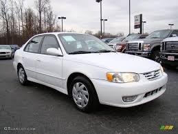 toyota corolla 2001 s 2001 white toyota corolla s 24387827 gtcarlot com car