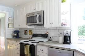 backsplashes for white kitchen cabinets kitchen pictures of glass subway tile kitchen backsplash white