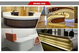 Led Reception Desk Custom Design Mini Reception Desk Led Reception Desk White Modern