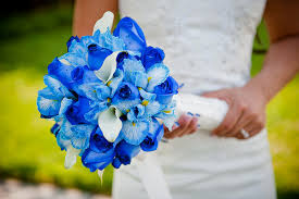 blue flowers for wedding blue wedding flowers 01 sang maestro