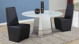 riesling carrara marble and stainless steel dining table zuri