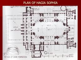 floor plan of hagia sophia sejarah senibina barat baea 2115 naziaty mohd yaacob ppt video