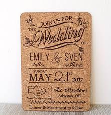 wedding invitations cork rustic cork wedding invitation wedding invites cork