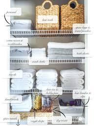 organized bathroom ideas bathroom closet organization organized bathroom linen closet