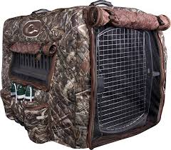Dog Crate Covers Amazon Com Drake Waterfowl Deluxe Insulated Adjustable Dog