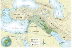 Fertile Crescent Map Mesopotamia