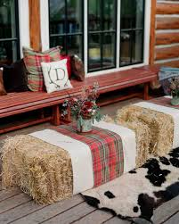 Fall Outdoor Pillows by Stacey And Eric U0027s Beaver Creek Mountain Wedding Martha Stewart
