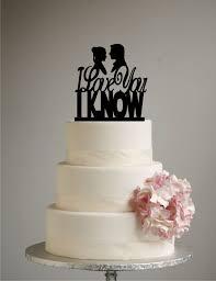 wars inspired wedding cake topper i you i