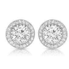 cubic zirconia earrings cubic zirconia earrings for less overstock