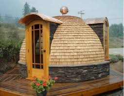 pretty 8 tiny house plans curved roof arched cabins homeca