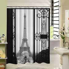 Eiffel Tower Home Decor Accessories Eiffel Tower Bedroom Curtains Home Design And Decoration