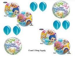 Bubble Guppies Decorations Bubble Guppies 2 Happy Birthday Party Balloons Decorations
