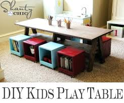 playroom table with storage kids tables with storage playroom kids table inspire 2 andreuorte com