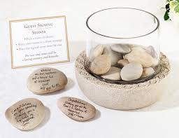 signing stones for wedding signing stones guest books pen sets signature frames