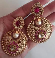 chandbali earrings chandbali earrings padmaja thuremella collection