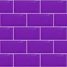 deep purple brick tile splashback kitchen ideas pinterest