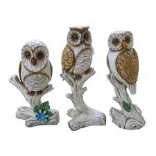 garden ornaments owls for garden decoration buy owl garden