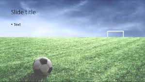 free soccer powerpoint template image collections templates