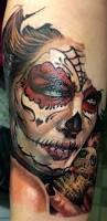 la catrina von qtattoo tattoo los muertos pinterest la