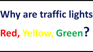why are traffic lights red yellow green hindi youtube