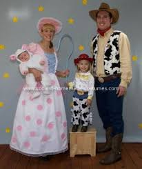 Jessie Woody Halloween Costumes Homemade Toy Story Family Costume