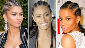 picture of corn rolls 10 celebs with cornrows who prove the kardashians didn t invent
