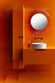 Orange Interior Best 25 Orange Bathrooms Ideas On Pinterest Orange Bathroom