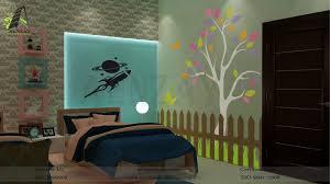 kids bedroom designed by aenzay at multan aenzay interiors