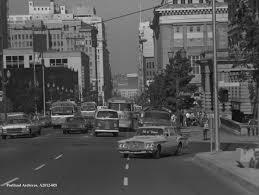 Portland Oregon Traffic Map by Jefferson Street Vintage Portland