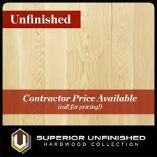 3 1 4 x 3 4 white oak select and better unfinished hardwood flooring