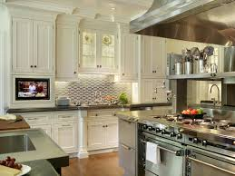 kitchen tile ideas backsplash white mosaic subway for the